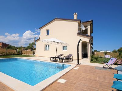 Photo for **** Villa Noa with private pool & fenced yard