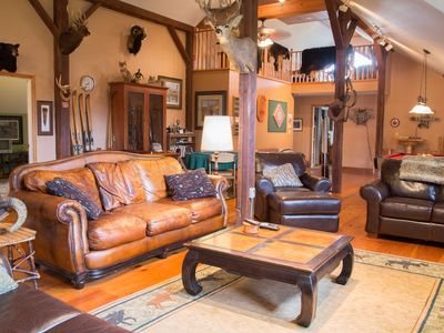Photo for Country Getaway Lodge / Ranch