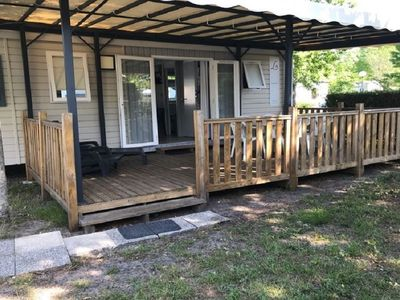 Photo for Rent new Mobil home nine air conditioned 3 bedrooms