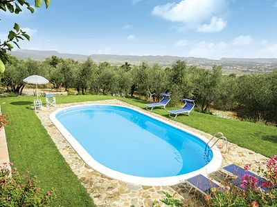 Photo for Farmhouse villa with amazing scenery, private gardens to stroll around in, a pool and Wi-Fi