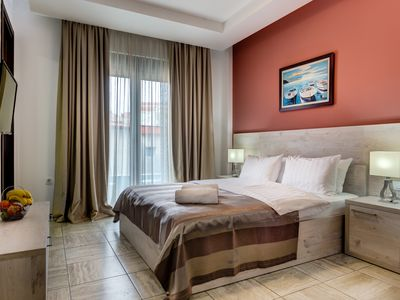Photo for Comfort Double Room with Balcony & Sea View