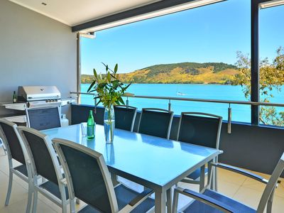 Photo for Villa 4 The Edge on Hamilton Island Waterfront High Ceilings Modern Amenities Plus Buggy