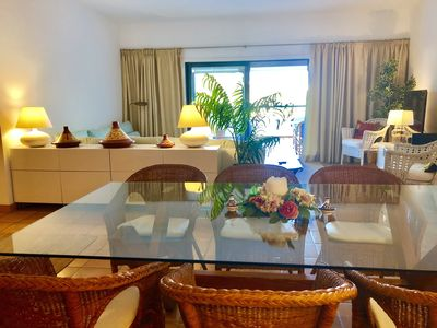 Photo for Spacious Apartment With Large Balcony- complex with pool. Close to beach & town