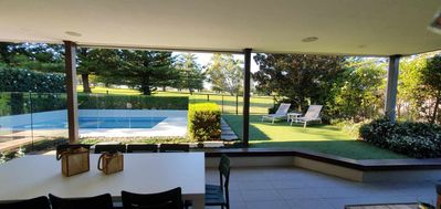 Photo for FAIRWAYS- 6 ROOMS -looking over Shelly Beach Golf course, PLUNGE POOL, Sleeps 12