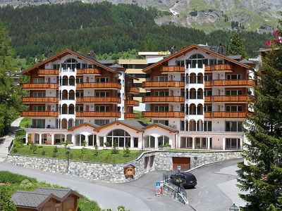 Photo for Apartment in the center of Leukerbad with Lift, Parking, Internet, Washing machine (302997)