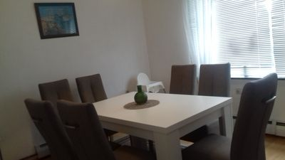 Photo for Holiday house in Dornum / North Sea for 1 to 7 people € 77