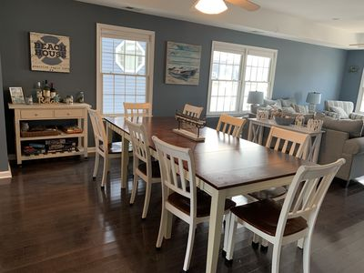 Photo for Large Family Beach House for Rent with Fenced in Outdoor Space
