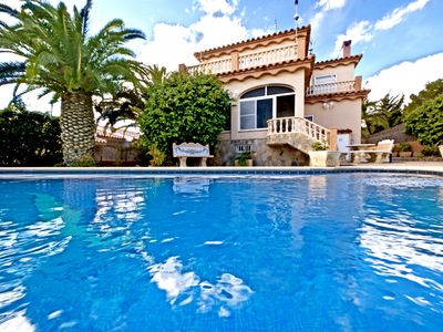 Photo for Villa Faro beautiful seaviews and just beside the village