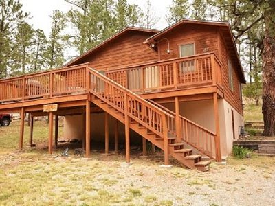 Photo for Beautiful Cabin Close to Downtown w/ Deck & Fireplace