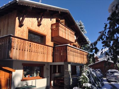 Photo for Chalet for 8 persons in Chamonix Mont Blanc
