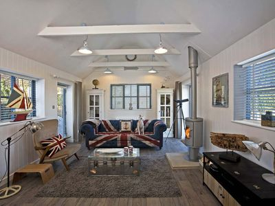 Photo for STUNNING SEA VIEW COTTAGE WITH 2 ENSUITE BEDROOMS – NORTH NORFOLK COAST/AONB