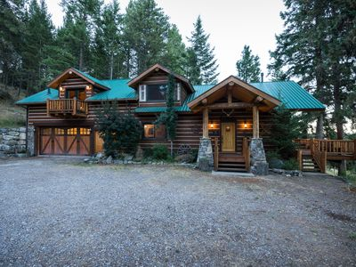 Photo for Montana Beauty at Hanging Rock Log Home
