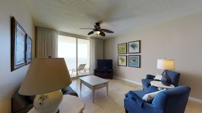 Photo for SEA's the day with this gorgeous unit with Gulf views!