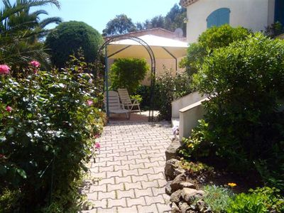 Photo for , 2 bedroom apartment at 600m air-conditioned gigaro beach with garden. 4 nights in May
