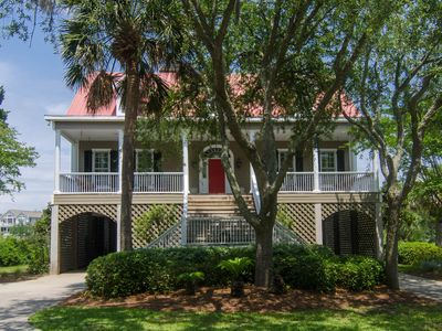 Photo for Cat's Cottage - 5BR/4BA Beach Walk Home With Views & Tasteful Decor