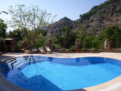 Photo for Orhaniye Stone Villa, Forest & Sea Views, Full AirCon, Private Pool, Very Quiet