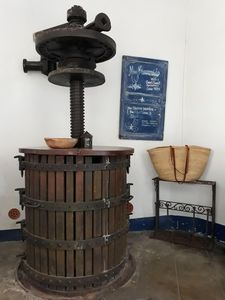 original wine press