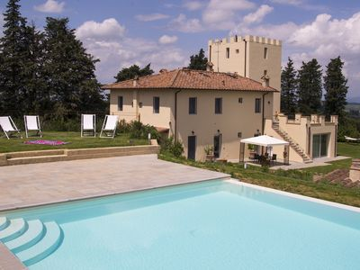 Photo for Villa La Torre in Montespertoli Fi. Poppiano apartment 2 rooms 4 beds