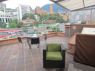 Photo for The building 2 PH, 5 apartments 12 beds.  5 Hot tubs. Roof Deck Good for groups