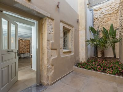 Photo for In the old historical town of Rethymno, Myrthia Luxury home with a private pool