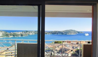 Photo for Between Monaco and Nice, superb apartment view