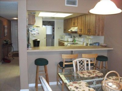 Very Open Kitchen area.