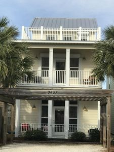 "Photo for ""Kingdom Castle"" - 3 Story Beach Home w/ Private Pool"