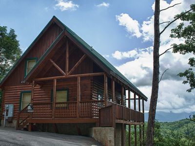 Photo for High Hopes:  Majestic Mtn Views At Pigeon Forge Honeymoon Cabin