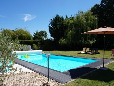 Photo for BED AND BREAKFAST, near Royan BEACHES, PARK, ACCESS KITCHEN, HEATED SWIMMING POOL, WIFI