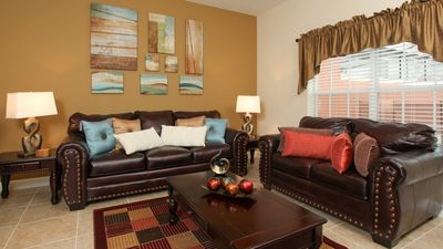 Photo for Enjoy Orlando With Us - Paradise Palms Resort - Welcome To Relaxing 4 Beds 3 Baths Townhome - 4 Miles To Disney