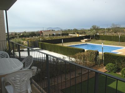 Photo for APARTMENT WITH TERRACE IN THE MIRADOR DEL DELTA 8 persons