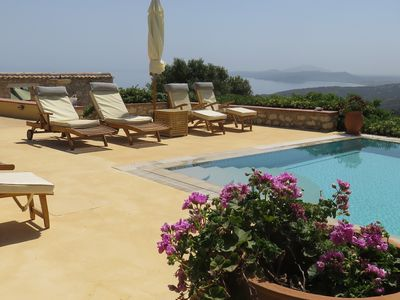 Photo for Stone Villa With Private Pool And Sea Views. EOT registered 0428K10000444201