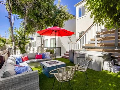 Large 5 Bedroom House Beach side in Mission Beach