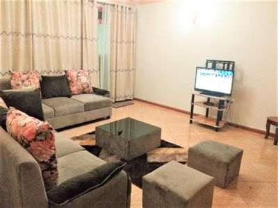 Specious living room fitted with DSTV and Wifi