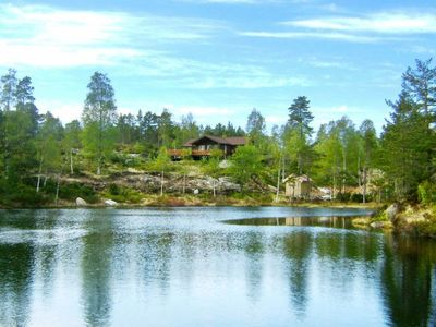 Photo for Vacation home Bjelland in Bjelland - 8 persons, 4 bedrooms