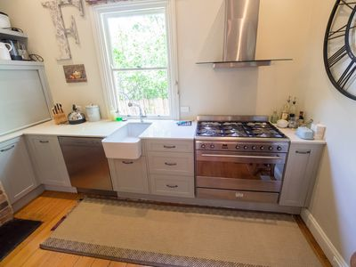 Huge oven and gas stove