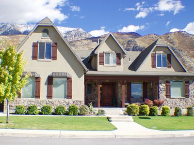 Photo for 6,000 Sq Ft Family Home In East Provo Minutes From Byu And Sundance Ski Resort