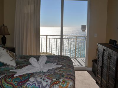 Photo for 2 Bedroom/ 2 Bath Beachfront with 2 dedicated beach chairs/unbrella included