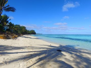Puaikura Beach, Arorangi District, Cook Islands