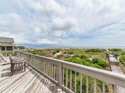Photo for Newly renovated beachfront home with private beach access, amazing ocean views