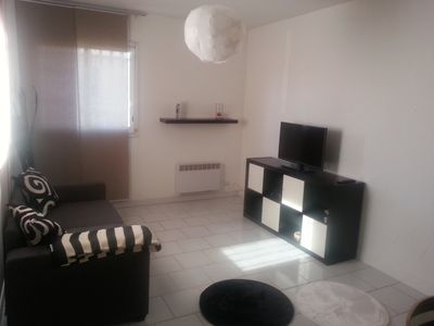 Photo for Beautiful T2 of 6 beds, with garden, in residential area
