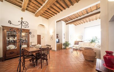 Photo for Gracious Historical Apartment In The Heart Of Siena