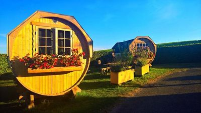 Photo for Camping La Grappe Fleurie - Barrel 2 People