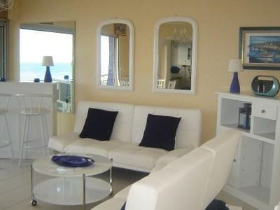 Photo for In BERCK, beautiful f3, superb sea view, 1 to 6 people, private parking, WiFi