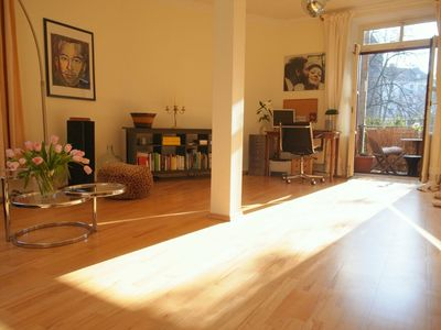 Photo for Nice quiet old apartment 71m² in the heart of the 'Kwartier Latäng'