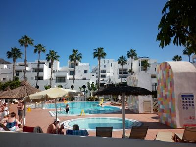 Photo for SPACIOUS AND BRIGHT DUPLEX ON THE BEACH. IDEAL FOR FAMILIES AND GROUPS OF FRIENDS.