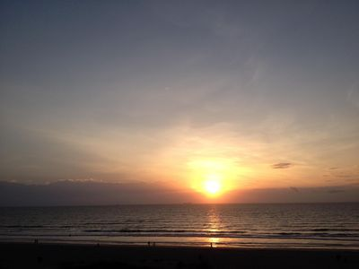 Beautiful Cocoa Beach sunrise . Another day in Paradise!