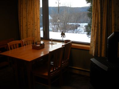 Photo for Bolton Valley 2 Bedroom, 2 Bath Cozy Condo with View, on ski/hiking Trails