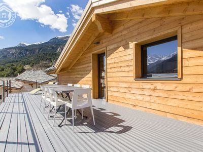 Photo for Quiet and modern spacious chalet with all comforts in mountain village