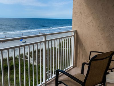 Photo for Experience Beach life Direct Ocean Front -bk our newest condo #1561093 for July!